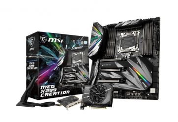 MSI MEG X299 Creation
