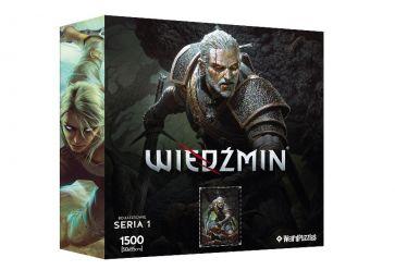 Puzzle CDP.PL Bohaterowie Wiedźmina - Geralt