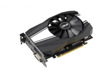 ASUS Phoenix GeForce GTX 1660 Ti OC 6GB