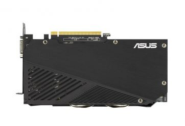 ASUS Dual GeForce RTX 2060 EVO OC 6GB