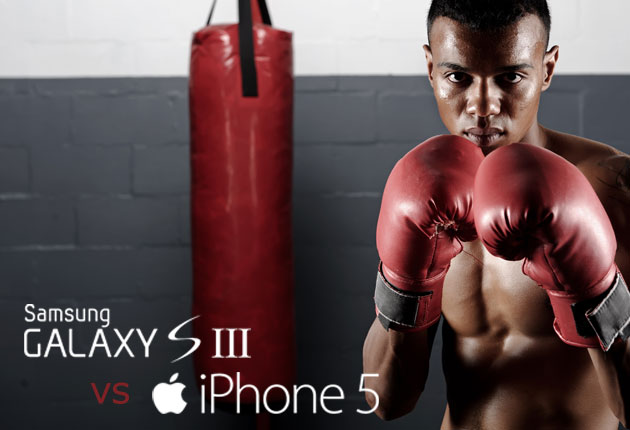 Samsung Galaxy S3 vs Apple iPhone 5 - pojedynek   zdjęcie 1