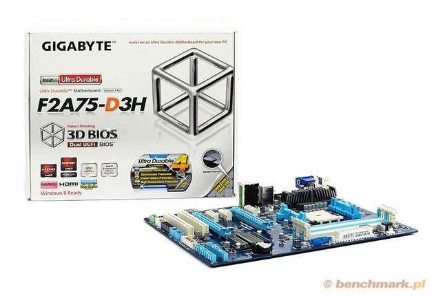 Gigabyte GA-F2A75-D3H - płyta dla AMD Trinity | zdjęcie 1