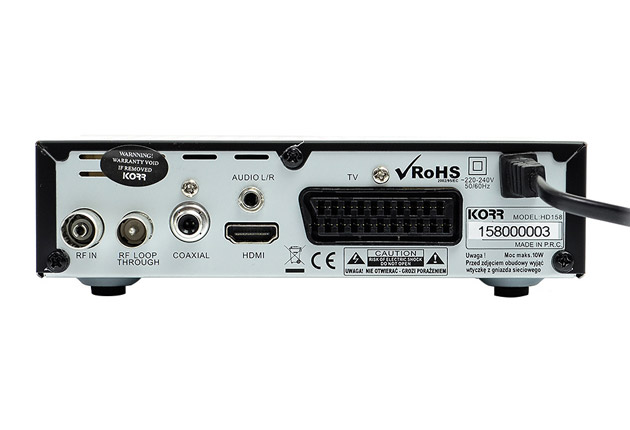 KORR HD158 – test, opinie, cena | zdjęcie 4
