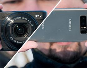 Fotografowanie: dobrym smartfonem, a może jednak kompaktem?