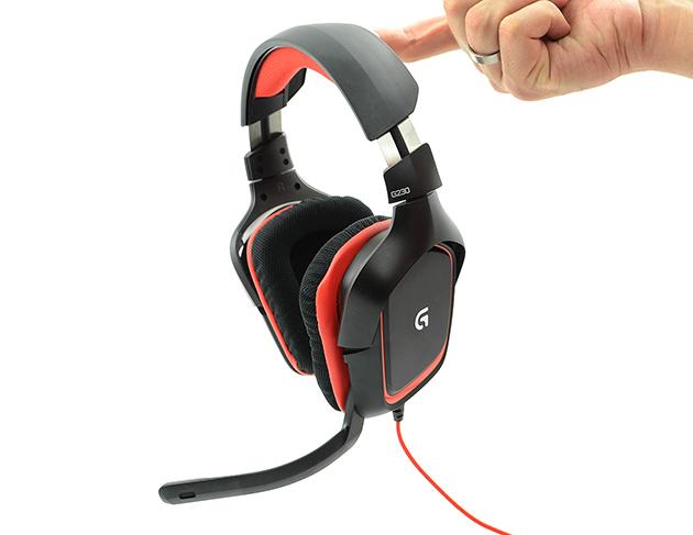 Logitech G430 oraz G230 - słuchawki dla graczy | zdjęcie 2