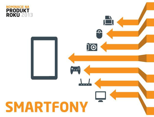 Smartfony - nominacje do plebiscytu Produkt Roku 2013 | zdjęcie 1