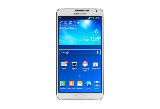 Samsung Galaxy Note 3 – centrum sterowania | zdjęcie 1