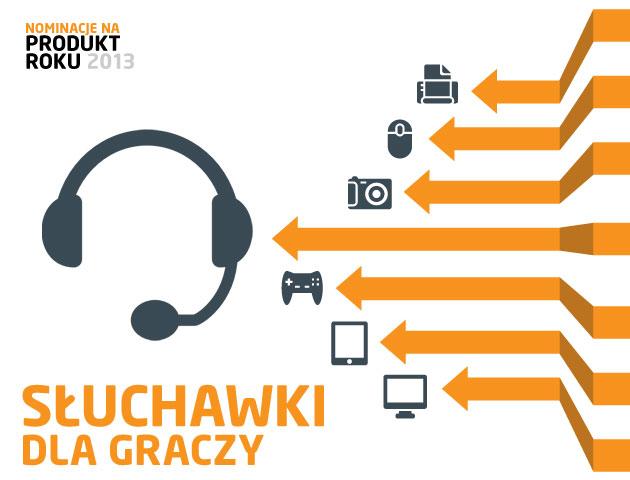 Słuchawki dla graczy - nominacje do plebiscytu Produkt Roku 2013 | zdjęcie 1