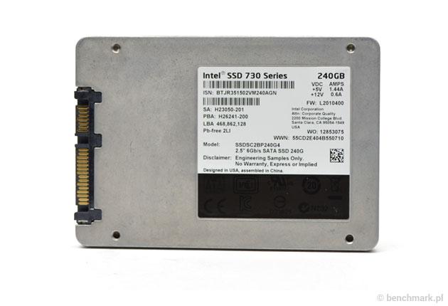 Intel SSD 730240 GB – wydajny, że czacha dymi? | zdjęcie 2