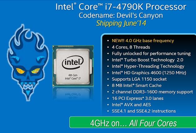 Intel Core i7 4790K - diabelnie mocny procesor | zdjęcie 1
