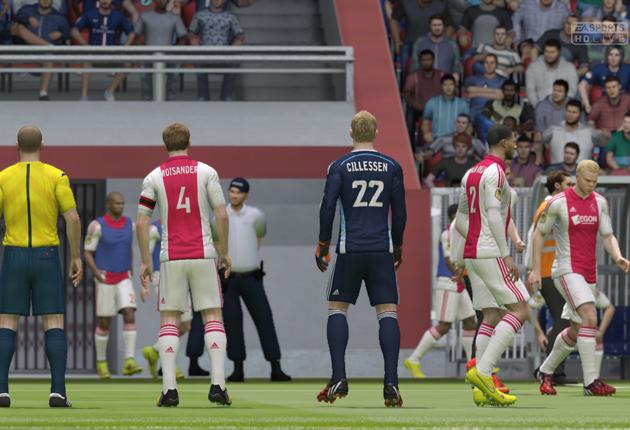Silnik IGNITE w akcji - pierwsze spojrzenie na grę FIFA 15 (PC) | zdjęcie 1