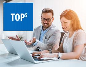 Jaki laptop biznesowy kupić? TOP 5