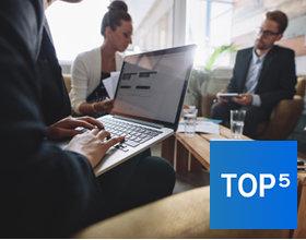 TOP-10 laptop biznesowy