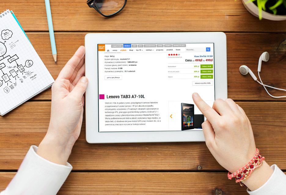 Tani tablet do 500 zł - TOP 5 najlepszych modeli | zdjęcie 1