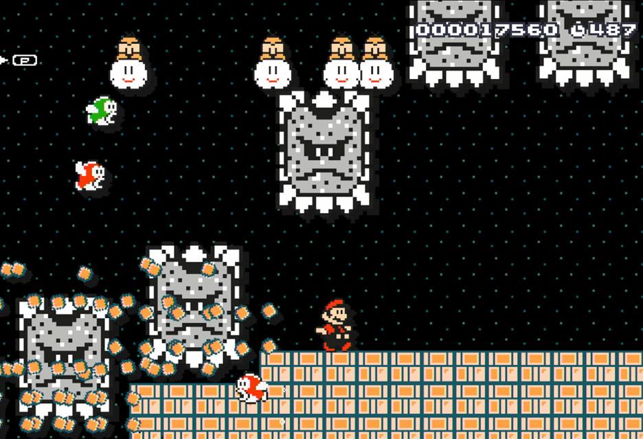 Super Mario Maker – być jak Adam Słodowy | zdjęcie 1