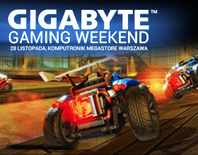 GIGABYTE Gaming Weekend - już w ten weekend w C.H. Wola Park Warszawa