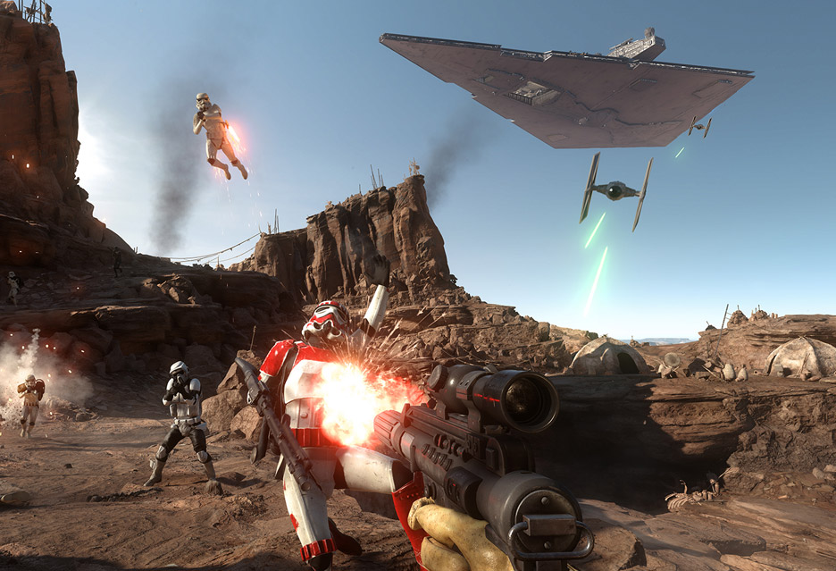 Star Wars: Battlefront – z nową nadzieją w starą trylogię   zdjęcie 3