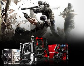 Rainbow Six Siege za darmo do płyt MSI Z170A Gaming M5 i Krait Gaming R6 Siege