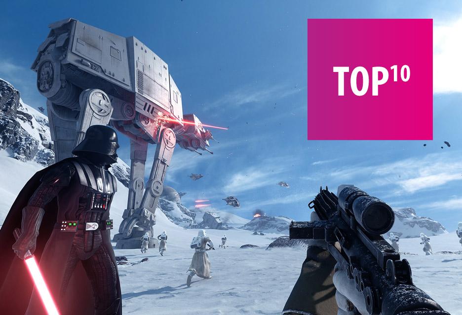 TOP 10 Gier ze świata Gwiezdnych Wojen | zdjęcie 1