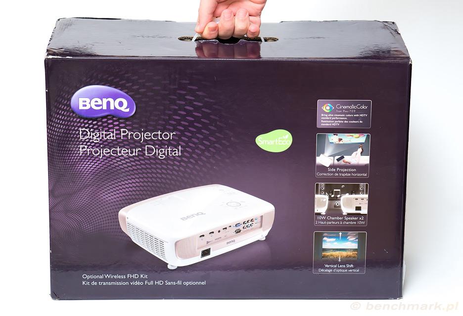 BenQ W2000 - moc jest z nim, szczególnie ta kolorowa strona | zdjęcie 4