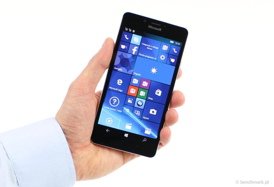 Microsoft Lumia 950 - test mobilnej wizytówki Microsoftu | zdjęcie 1