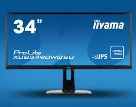 iiyama ProLite XUB3490WQSU - ultrapanorama w 34 calach