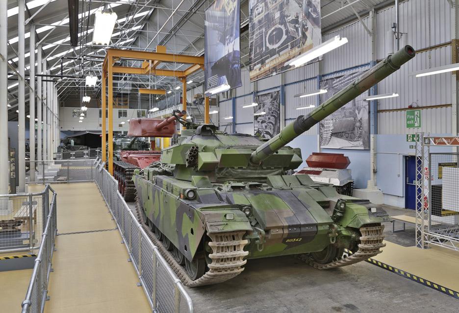 O czołgach przy czołgach – spotkanie z Wargaming w muzeum w Bovington | zdjęcie 5