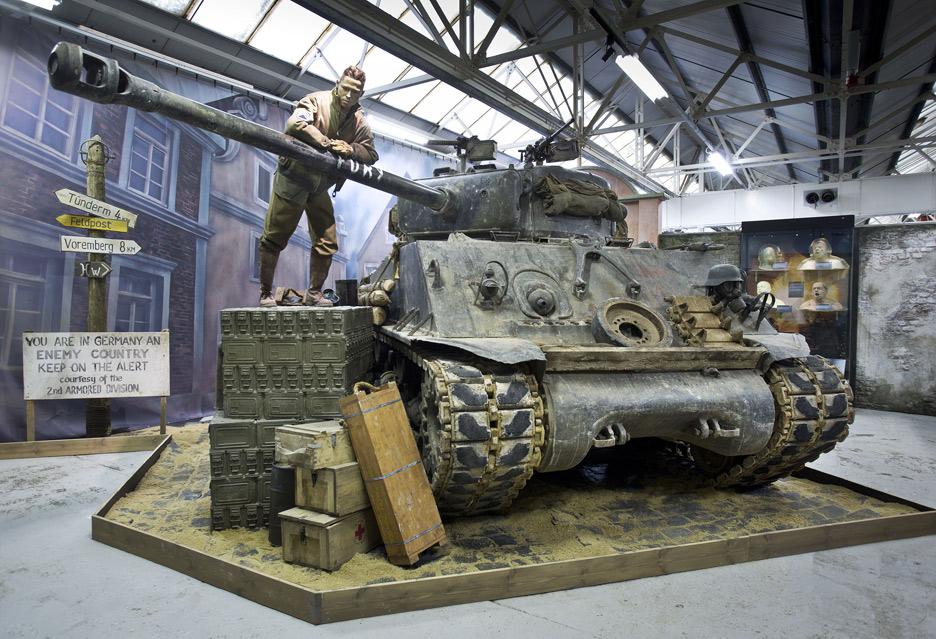 O czołgach przy czołgach – spotkanie z Wargaming w muzeum w Bovington | zdjęcie 1