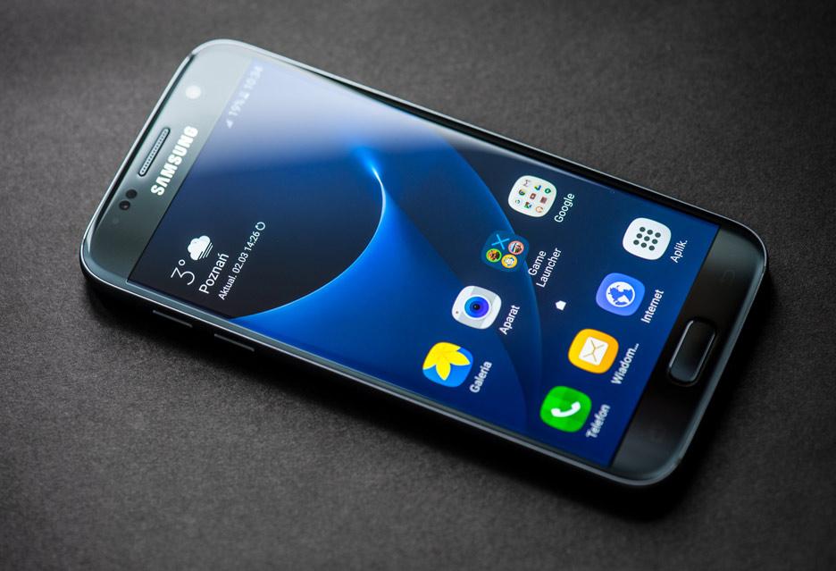 Galaxy S7 - wyświetlacz