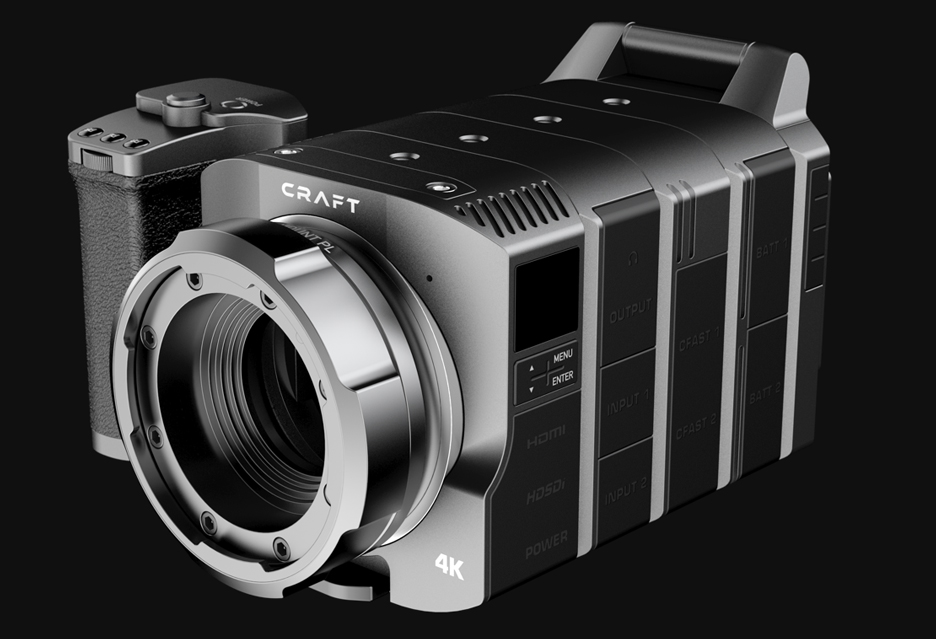 Craft - w pełni modularna kamera filmowa - czy taki pomysł może się przyjąć?