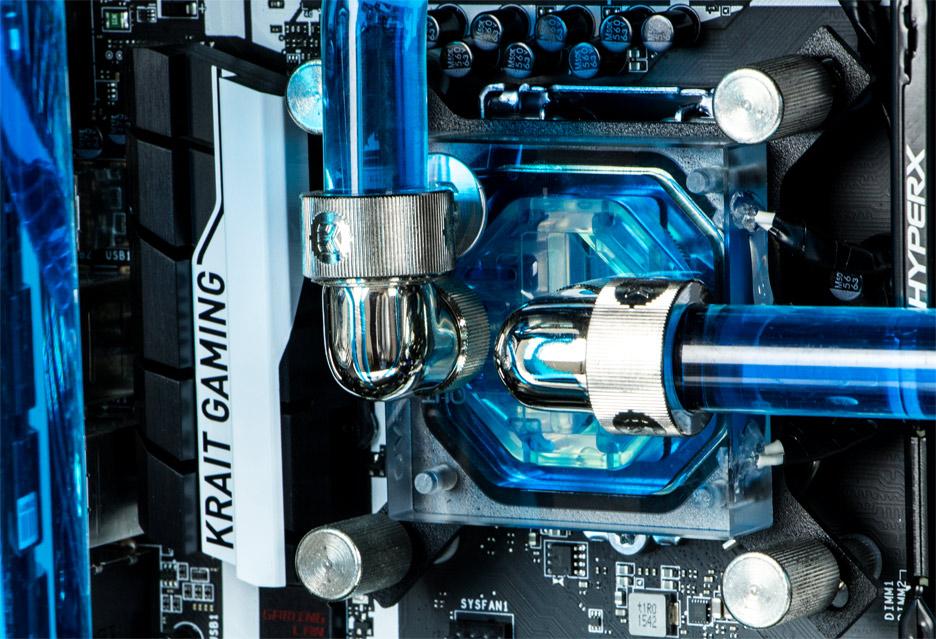 Komputronik Infinity IEM 2016 Silver - maszyna dla entuzjasty z dwoma GTX 980 Ti | zdjęcie 3
