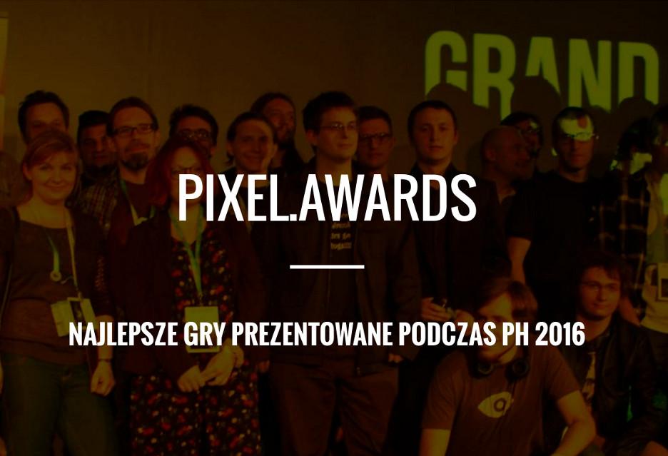 Pixel Awards 2016 - znamy finalistów