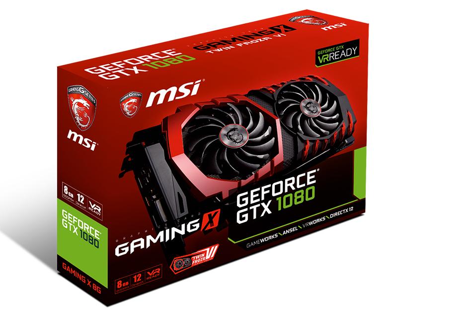 MSI GeForce GTX 1080 Gaming X 8G - premierowy test autorskiej karty | zdjęcie 1