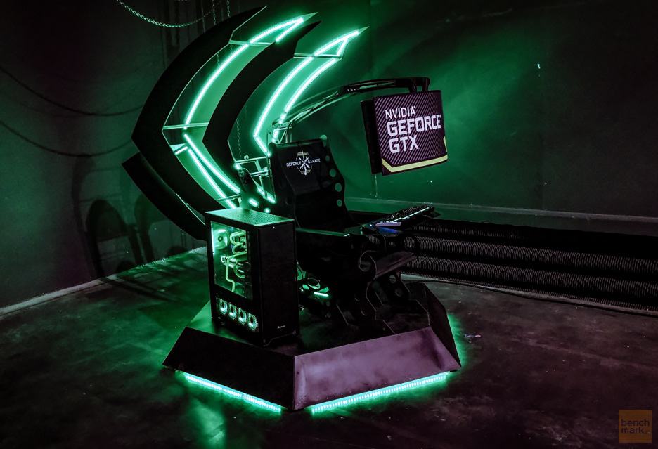 Gamer's Throne - taki tron dla gracza to tylko z GeForce Garage