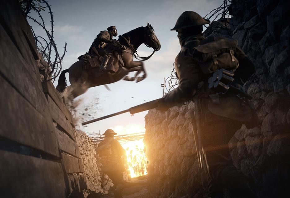 Battlefield 1 ze zmienną pogodą, która będzie wpływać na rozgrywkę
