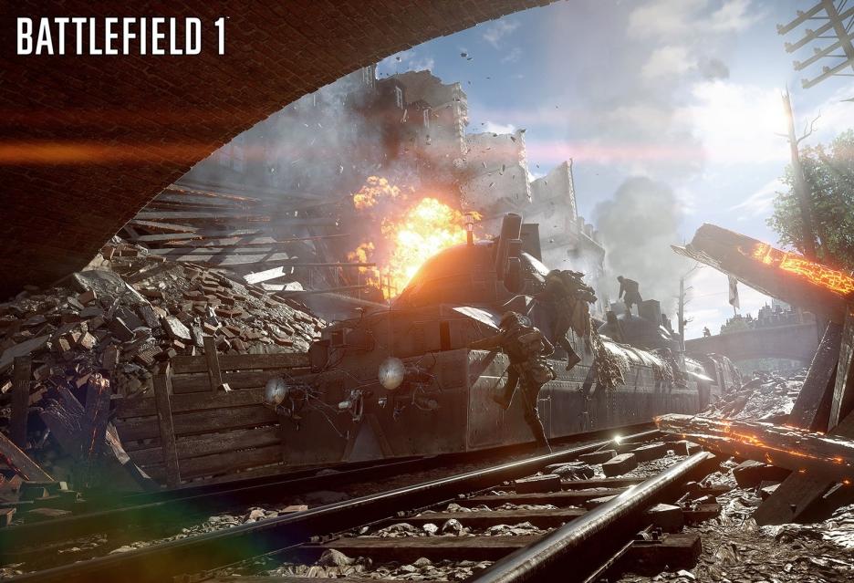 Jak wygląda destrukcja otoczenia w Battlefield 1?