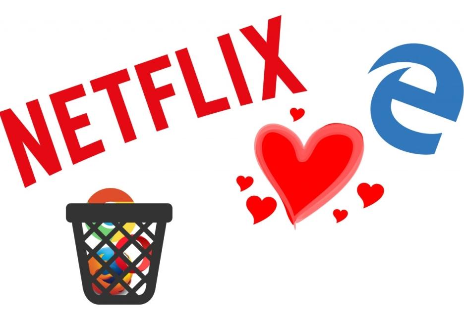 Netflix i wideo 1080p w przeglądarce? Tak, ale tylko tej od Microsoftu