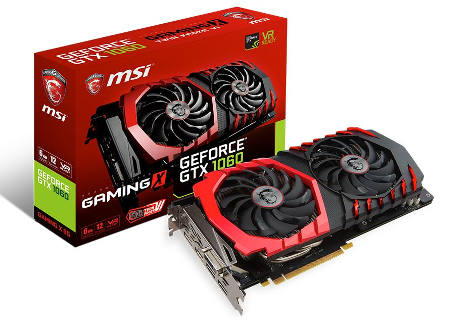 MSI GeForce GTX 1060 GAMING X - mały Pascal w dużym wydaniu   zdjęcie 2
