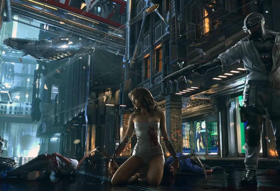 Cyberpunk 2077 pozwoli pojeździć, a nawet polatać