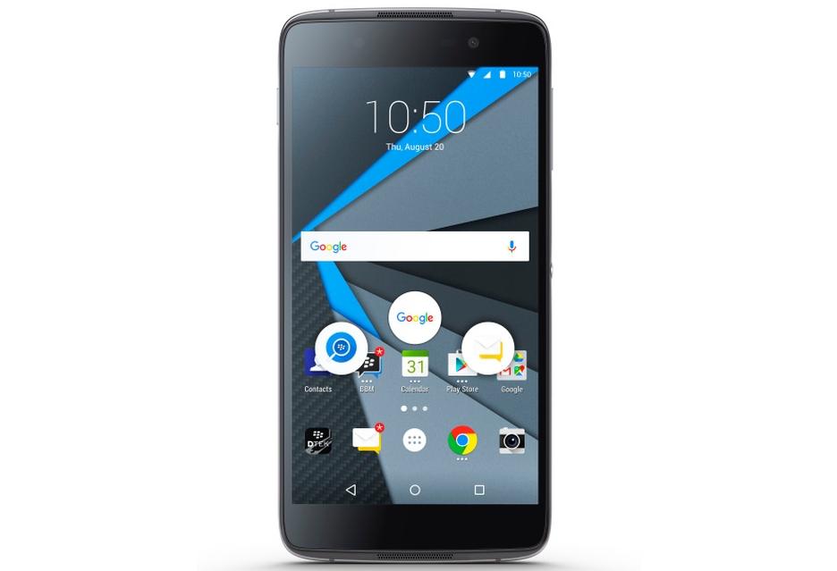 """BlackBerry DTEK50 - nowy smartfon z """"bezpiecznym"""" Androidem"""