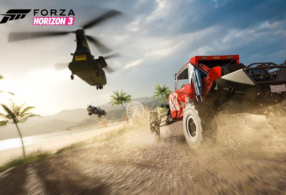 Forza Horizon 3 wygląda rewelacyjnie
