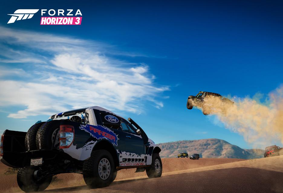 Forza Horizon 3 - piękne wyścigi