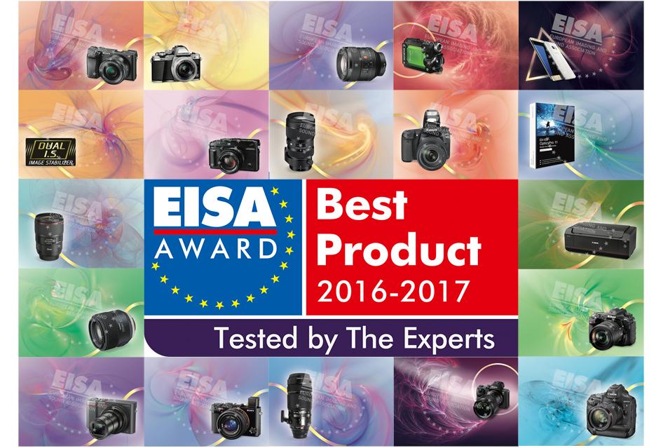 Najlepszy sprzęt fotograficzny na rok 2016-2017 według EISA