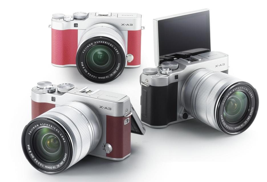 Fujifilm X-A3: kompakt systemowy stworzony z myślą o selfie