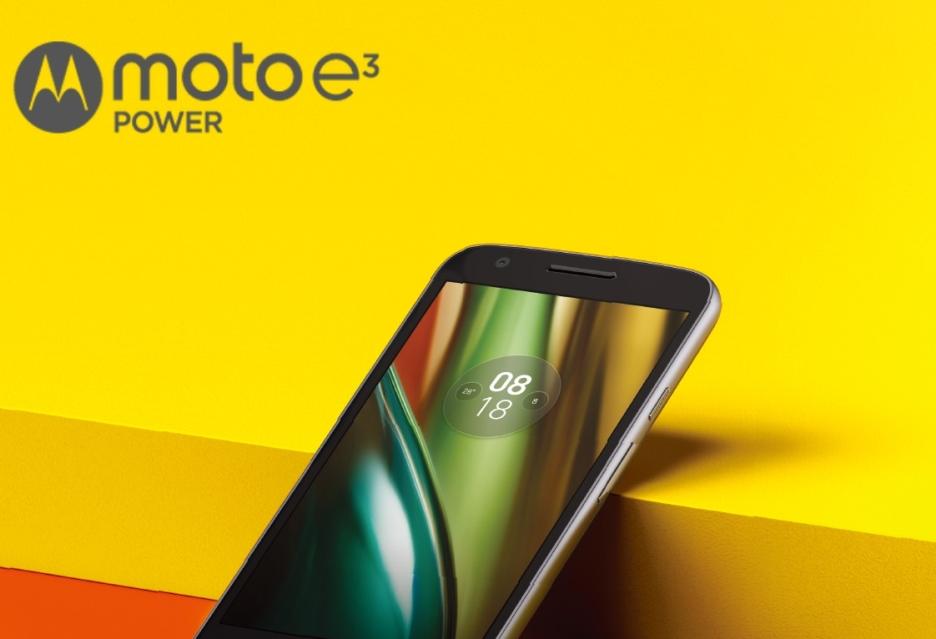 Lenovo Moto E3 Power - budżetowy smartfon z pojemną baterią