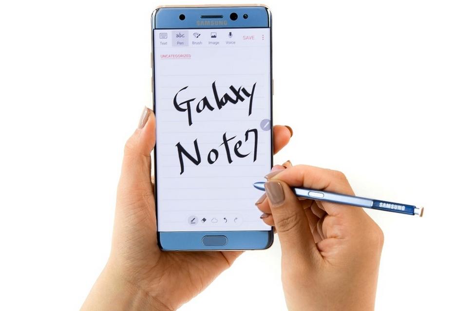 Galaxy Note 7 z wadliwymi bateriami  - producent wstrzymuje sprzedaż