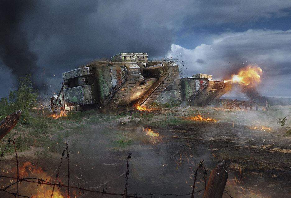 100 lat czołgów w bitwach - Wargaming świętuje