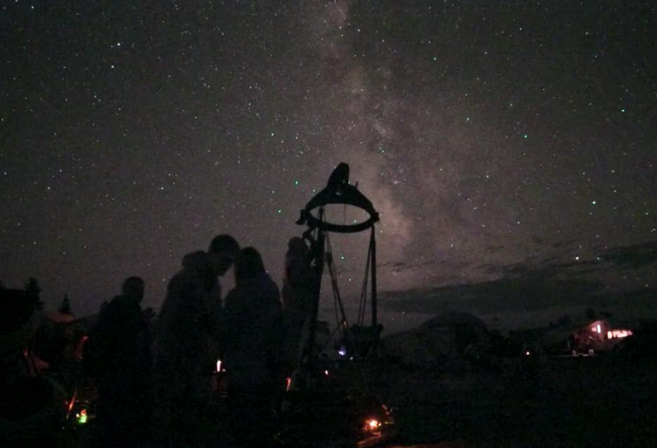 Gdyby człowiek widział niebo tak jak nowoczesne kamery wideo - to byłoby coś niesamowitego