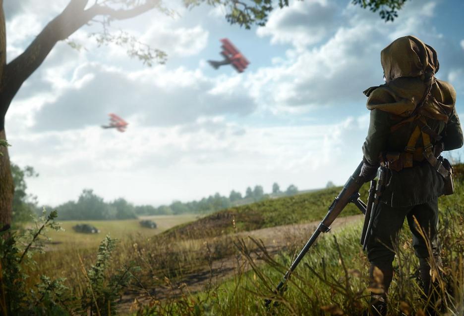 Świetny - tak jednym słowem opisać można zwiastun kampanii Battlefield 1