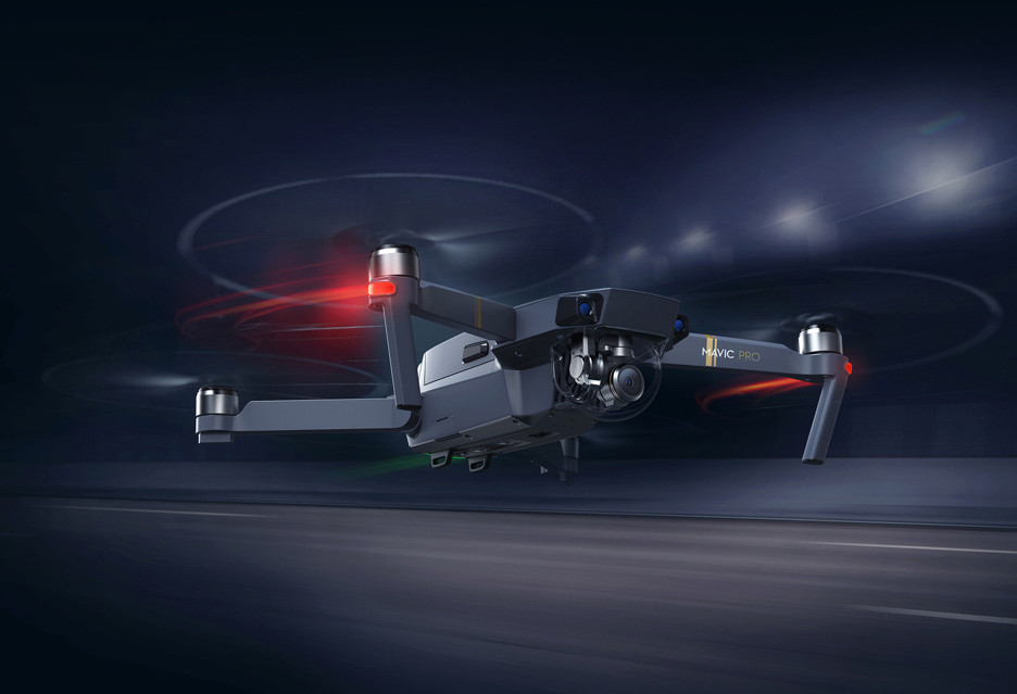 DJI Mavic Pro: składany dron z kamerą 4K - odpowiedź na GoPro Karma